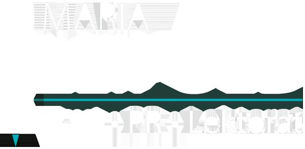 Logo Maria Leipold Lektorat